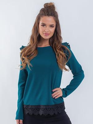 Блуза бирюзовая | 5284601
