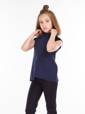 Блуза темно-синяя | 5283160