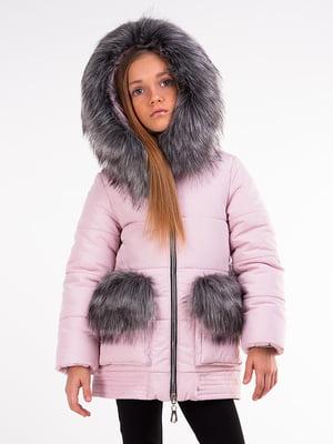 Куртка розовая | 5283310