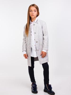 Пальто сіре | 5283424
