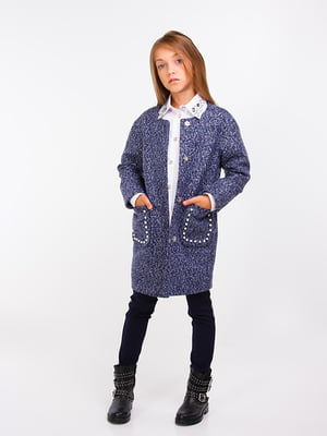 Пальто синє | 5283425