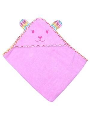 Рушник рожевий (90х75 см) | 5284660
