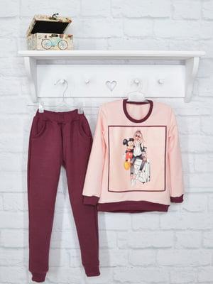Комплект: джемпер и брюки | 5284693