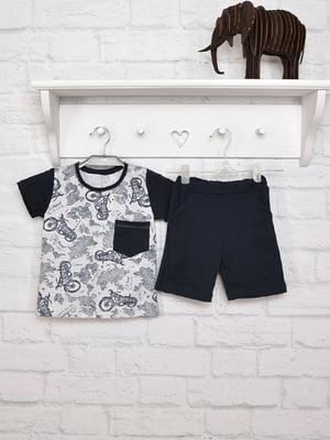 Комплект: футболка и шорты   5284700