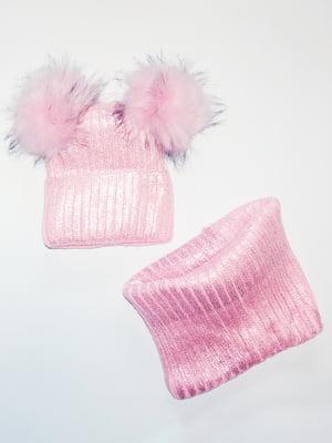 Комплект: шапка і шарф-снуд   5284768