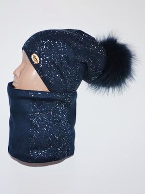 Комплект: шапка і шарф-снуд   5284784