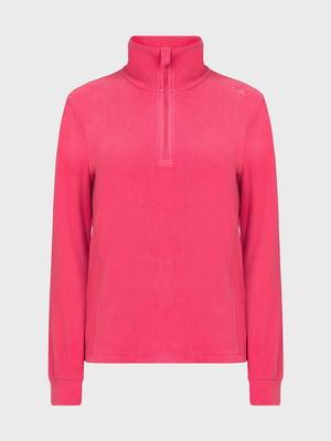 Джемпер розовый флисовый | 5260149