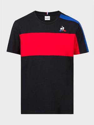 Футболка чорно-червона | 5260871