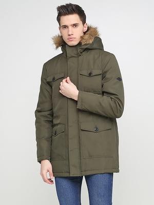 Куртка кольору хакі | 5284872