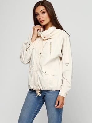 Куртка молочного цвета | 5284873