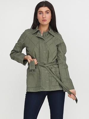 Куртка цвета хаки   5284900