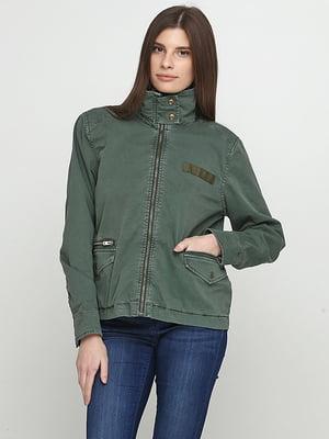 Куртка зелена | 5284904