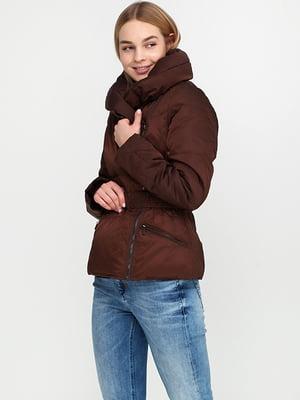 Пуховик коричневий | 5284912