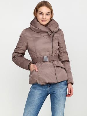Куртка сіро-бежева | 5284914