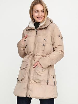 Куртка бежева | 5284916