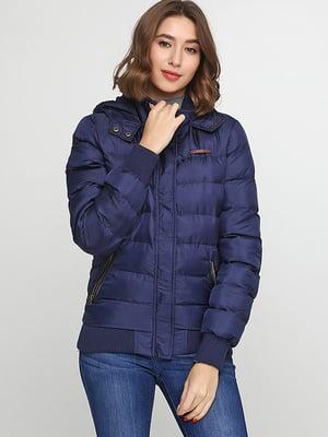 Куртка темно-синяя | 5284917