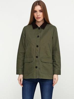 Куртка кольору хакі | 5284919