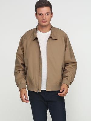 Куртка темно-бежевая | 5284924