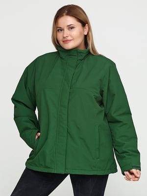 Куртка зелена | 5284927