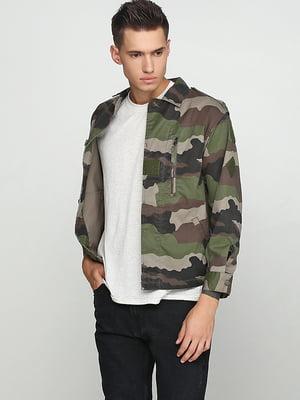 Куртка цвета хаки | 5284934