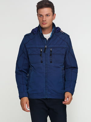 Куртка темно-синяя | 5284935