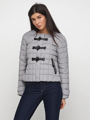 Куртка сіра | 5284953
