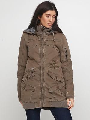 Куртка цвета хаки | 5284963
