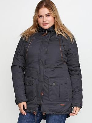 Куртка темно-сіра   5284972