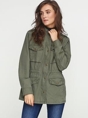 Куртка серо-зеленая   5284973