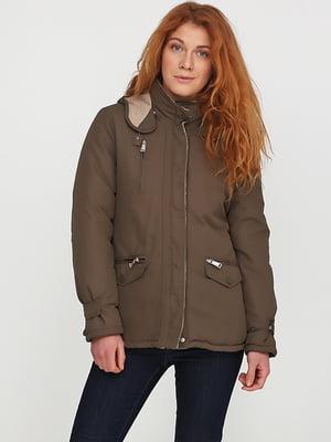 Куртка кольору хакі | 5284996