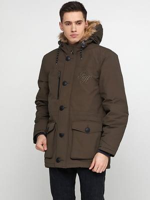 Куртка цвета хаки | 5285002