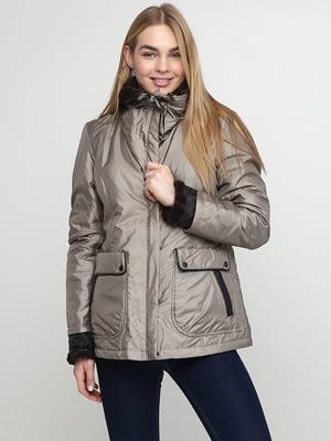 Куртка оливкового цвета   5285007
