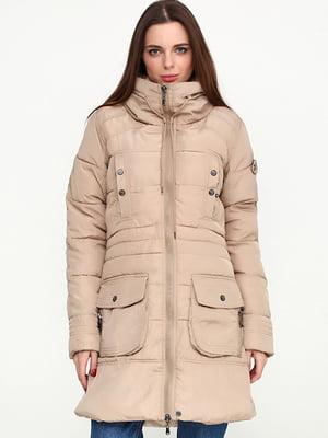 Куртка бежевая | 5285009
