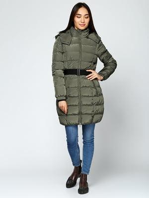 Куртка оливкового кольору | 5285026