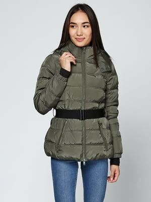 Куртка оливкового кольору | 5285027