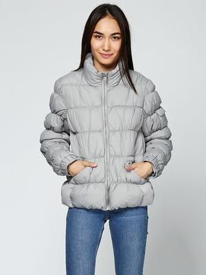 Куртка сіра | 5285033
