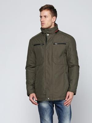 Куртка цвета хаки | 5285050
