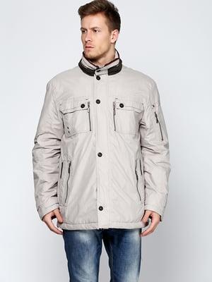 Куртка светло-бежевая | 5285051