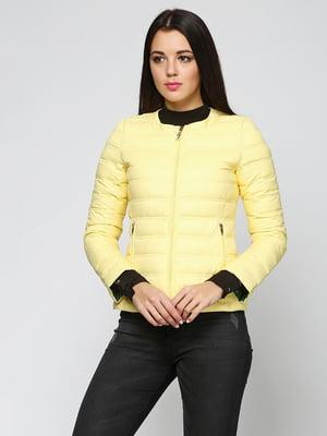 Куртка жовта | 5285061