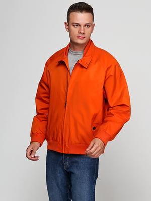 Бомбер оранжевый | 5285074