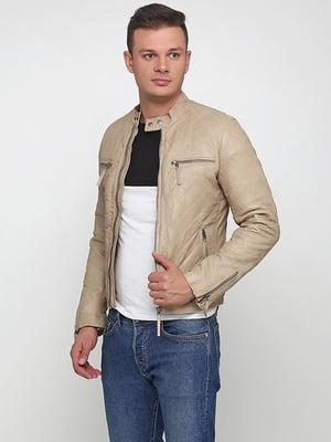 Куртка бежева | 5285103