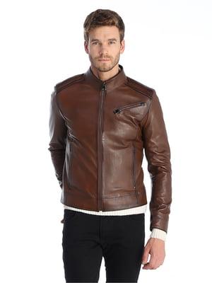Куртка коричнева | 5285106