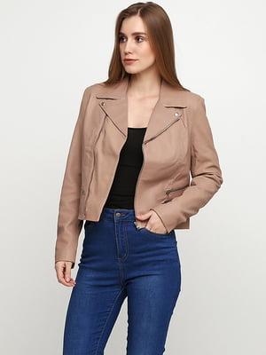 Куртка бежевая | 5285129