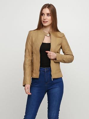 Куртка бежевая | 5285132