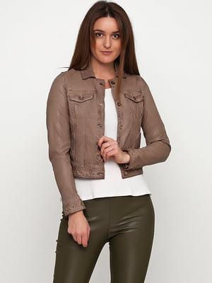 Куртка світло-коричнева | 5285089