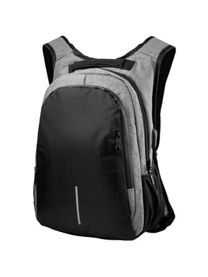 Рюкзак серо-черный | 5285139