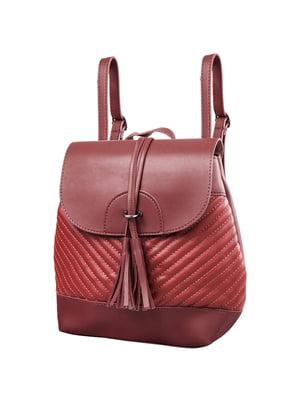 Рюкзак бордовий | 5285212