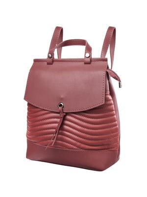 Рюкзак бордовий | 5285220
