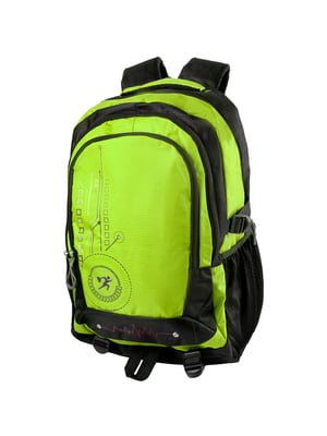 Рюкзак чорно-салатовий | 5285261