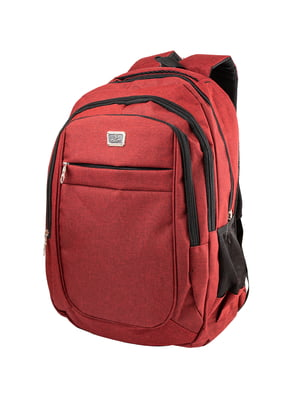 Рюкзак бордовый | 5285338